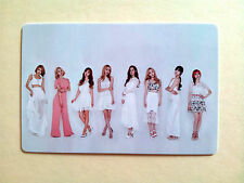 SNSD Girls' Generation 2016 GREETINGS CALENDAR [ OFFICIAL ] PhotoCard - Group A