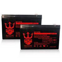 (2) Neptune Power 12V 7AH Replacement Battery For Razor ZR350