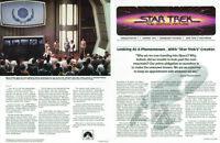 Star Trek The Motion Picture Original Paramount Newsletter #1 1979 Roddenberry