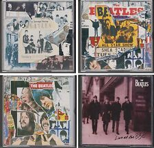 BEATLES Anthology Volume 1,2 & 3 Plus Live At The BBC Sessions 8 CD Lot