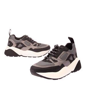 RRP €545 STELLA MCCARTNEY Sneakers Size 40 UK 7 US 10 Basketweave Thick Sole