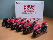 F-Toys 1/24 scale Pop Yoshimura Racing Collection: 1 Box (6pcs) full set  # A