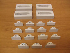 Lot Hampton Bay White Track Light Cover Connector Coupler Lighting End Fitting