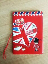 British Soldiers Character Travel Passport Holder Cover Case Bag Wallet Protect