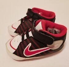 GUC! Boys Nike Soft Red/White/Black Bottom shoes SZ. 3C Retro Vintage