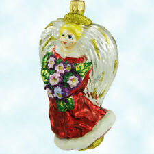 Larry Fraga Nicole Floral Flowers Angel Ornament Valentines Day Mothers MWT