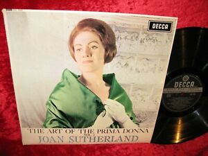 1960 UK EXC+ SXL 2257 ED3 WB STEREO THE ART OF THE PRIMA DONNA JOAN SUTHERLAND