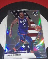 2019-20 Mosaic Kevin Durant Silver Prizm Card #251 USA Basketball K65
