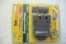 Yale Doormaster Superclasp. Double Kingpin Bolts & Frame Staple.