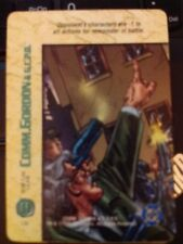 DC Overpower Comm. Gordon and the G.C.P.D. Tear Gas Guns NrMint-Mint Card
