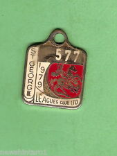 ST GEORGE DRAGONS  RUGBY LEAGUE MEMBER BADGE #577  1979, PREMIERS