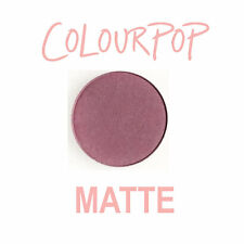 ColourPop Pressed Powder Eye Shadow Pan - SILVER LINING - matte dusty purple