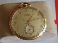 Nice Vintage GRUEN Verithin Precision 10KGF 17J Pocket Watch