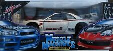 MUSCLE MACHINES 00 NISSAN SKYLINE GTR WHITE   MM 71169  1:18 2003