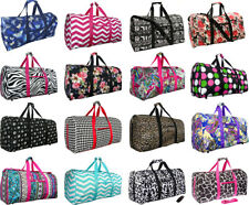 "Women's Fashion Print 22"" Gym Bag Dance Cheer Travel Carry-on Duffle Bag"