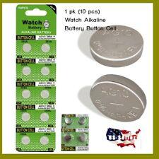 10 pcs Watch Alkaline Battery Button Cell LR1130 1.5V Coin Cell Tea Light Toy