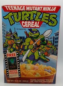 TMNT Teenage Mutant Ninja Turtle EMPTY Cereal Box