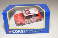 ^ CORGI TOYS 04406 4406 MINI MONTE CARLO RALLY RED MINT BOXED