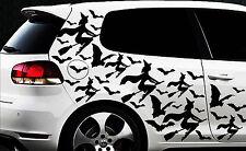 99x Hexe Sterne Star Auto Aufkleber Wandtattoo Hexenkutsche Gothic Halloween