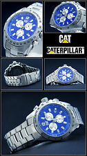 Luxury Chronograph- Cat Watch Exclusive Design Azure Blue 10 BAR WATER PROOF