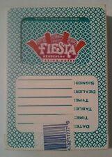 FIESTA HOTEL CASINO HENDERSON, NEVADA CARD DECK #1.