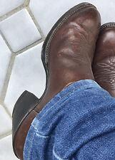 Vintage Tall Buckaroo Cowboy Work Boots 10.5