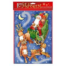 Christmas Countdown Advent Calendar - 24 Windows - 2514 Santa Sleigh