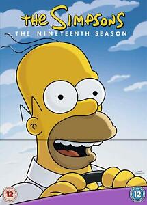 THE SIMPSONS Stagione 19 Completa BOX 4 DVD in Inglese NEW .cp