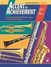 Accent on Achievement, Book 1 Teacher's Resource Kit, 17142