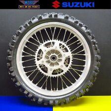 1999 Suzuki RM250 RM125 OEM Rear Back Wheel Hub Rim Tire 89-00 64111-43D00