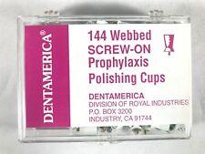 Dentamerica Dental Prophy Prophylaxis Polishing Cups Webbed Pcs