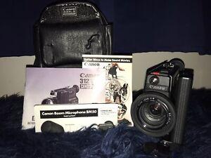 Near Mint Canon 312 XL-S Canosound Super 8 8mm Film Camera