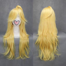 Panty & Stocking with Garterbelt Wigs Panty Long Blonde Cosplay Wig + Wig Cap