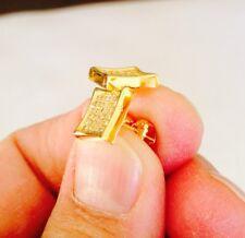 Mens & Ladies 10K Gold Filled 0.3ct. Lab Diamond Kite Screw Back Stud Earrings