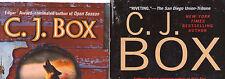 Partial Set Lot of 6 Joe Pickett Mystery Hardcovers by C.J. Box (# 12-17) CJ