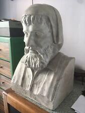 Buste Platre Galien Atelier Lorenzi Signé Ancien