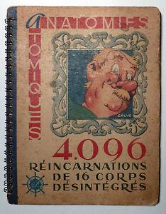 Calvo Anatomies atomiques 1946 TBE