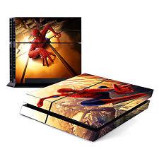 Spiderman - Sony PlayStation PS4 Skin Decal Sticker Vinyl Wrap