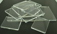 Lightweight Acrylic Perspex Block Pad For Clear & Unmounted Stamps Various Sizes