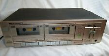 Vintage Marantz Dual Tape Deck Sd-160 Stereo Working Copper Color