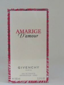 AMARIGE D'AMOUR By GIVENCHY for Women 3.3oz / 100ml EDT Spray -NIB NEW AUTHENTIC