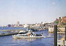 AK, Hamburg, Partie an den St. Pauli-Landungsbrücken, um 1986