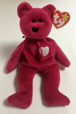 """1998 New TY Beanie Babies """"Valentina"""" Bear Mint From Collection Korean Market"""