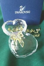 Swarovski Crystal Hearts & ANNA'S JEWEL BOX-#666890-Retired-2004- w/box & COA