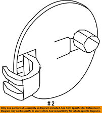 FORD OEM 10-13 Transit Connect Side Panel-Fuel Door Gas Cap Hatch 2T1Z61405A26AA