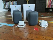 Pair of Nest audio smart speakers - Google - Boxed with Free Delivery