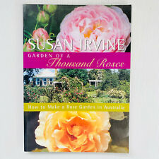 Garden of a Thousand Roses by Susan Irvine Paperback Book Rose Garden Free Post