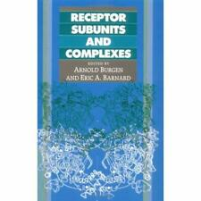 Receptor Subunits Complexes Hardcover Cambridge University Press 9780521366120