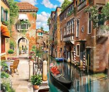 Wooden Jigsaw puzzles Non-boring games Venice 104 pcs NEW