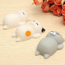 Kawaii Soft Cats Squishy Healing Squeeze Fun Kid Toy Gift Stress Reliever Decor